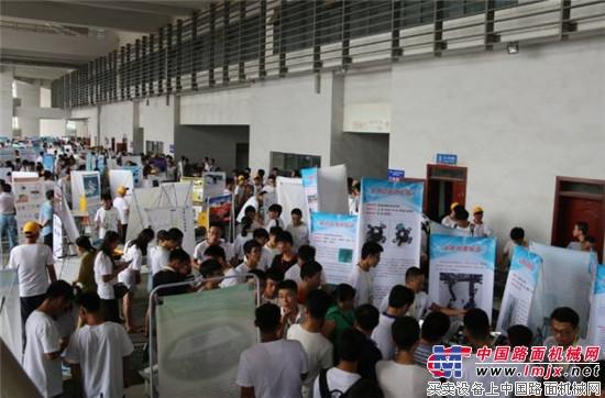 """""""临工杯""""第十四届山东省大学生机电产品创新设计竞赛成功举行!"""