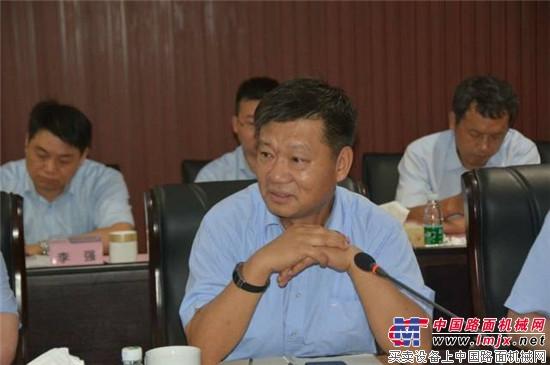 中联环境与盈峰环境管理团队召开沟通见面会
