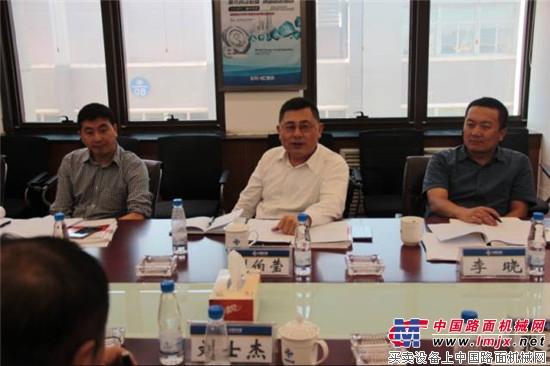 中国交建科技部刘伯莹总经理来西筑调研