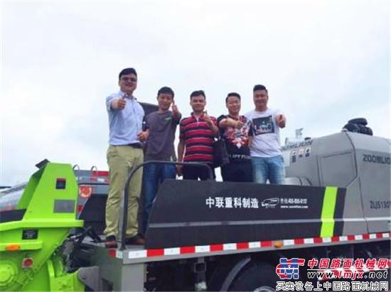 4.0客户说丨中联重科泵车更快、更稳、更省