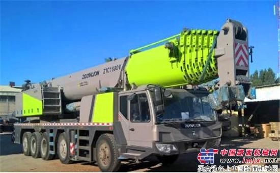 """科威特最大吨位中国汽车起重机诞生 中联重科""""挑战不可能"""""""