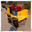 思拓瑞克手扶小型压路机热卖款:0.5吨双轮压路机