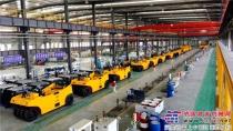 国机重工洛阳公司全液压轮胎压路机获批量订单