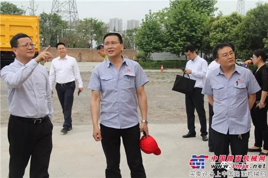 """西咸新区领导一行到同力重工考察指导  同力重工第二届""""同力风"""