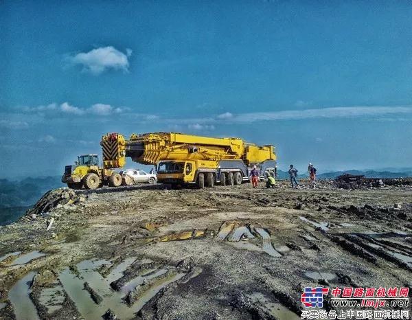 徐工:風電利器! 中國最成熟的650噸全地面起重機已經賣到國外!