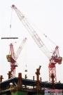 创造纪录进行时!中联重科研制全球最大内爬式动臂塔机
