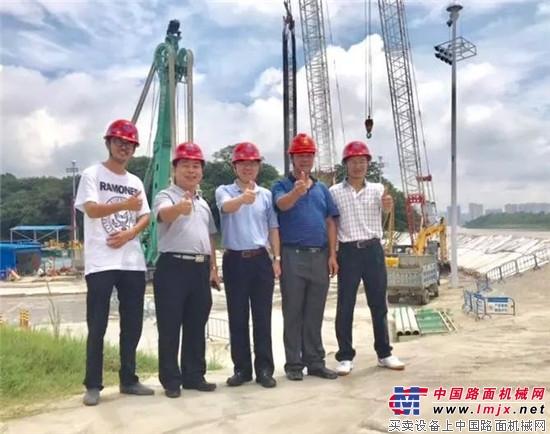 上海金泰SX40副轮铣应敌世界最父亲跨径钢管混凝土拱桥工程