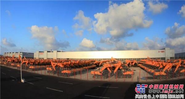探访三一挖机生产基地 走进中国最美微挖工厂 !