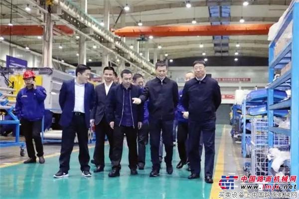 徐工:湖北天门市市长庄光明一行到公司调研
