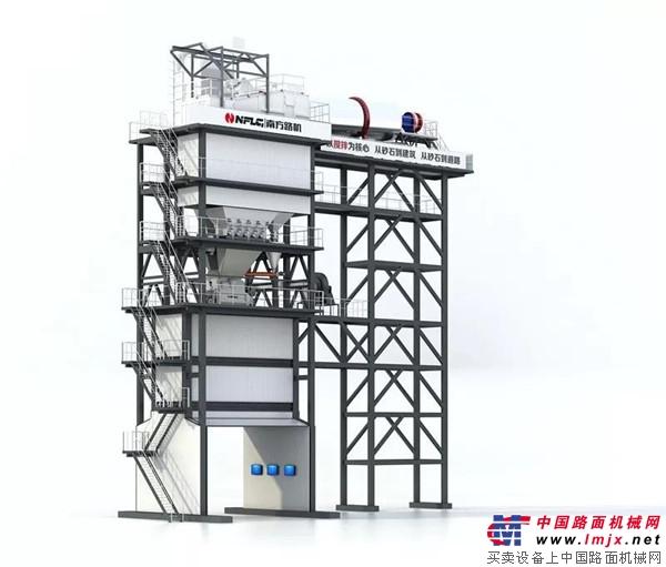 2018上海宝马展南方路机参展展品之沥青混合料搅拌设备(一)