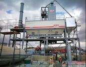 中国土木选用西筑J1500型沥青搅拌设备