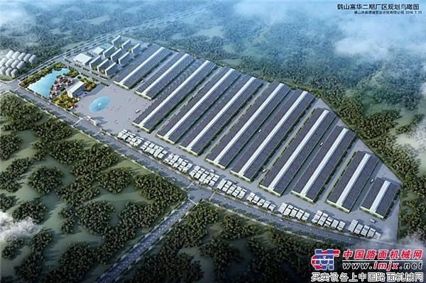 鹤山富华二期厂区规划图