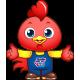 中國路面機械網吉祥物公雞喔喔