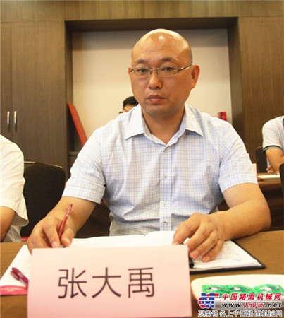 南阳亚龙筑路机械制造有限公司总经理张大禹