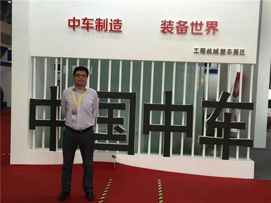 北京中车重工机械有限公司桩工事业部总经理吴嘉熠