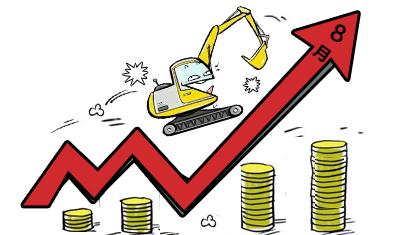 """8月挖机销量大增背后的""""推手"""""""