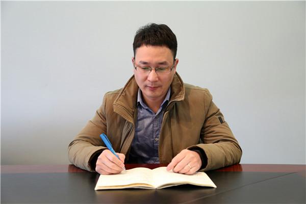 浙江鼎力企宣部经理田林