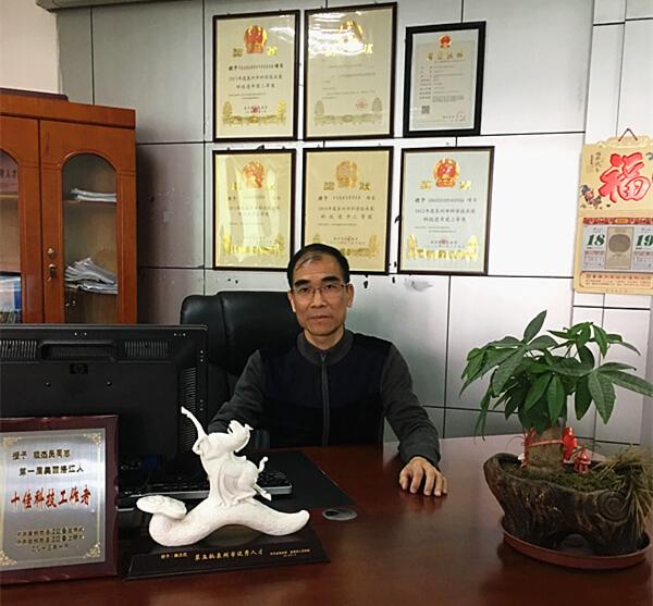 泉州市闽盛交通科技有限公司总经理赖杰民