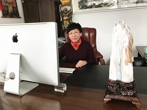 大连凯联贸易有限公司总经理舒玫