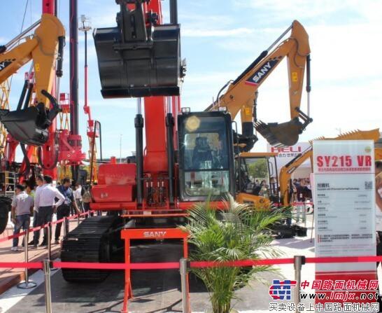 三一重机SY215 VR遥控挖掘机