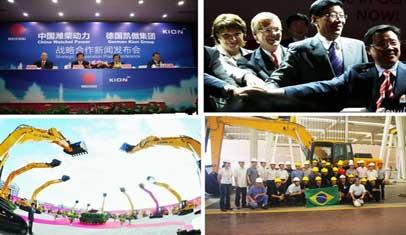 中国工程机械企业的国际化征程