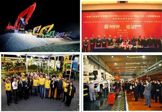 中国工程机械巨头们的国际化路径