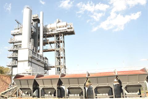 铁拓机械TS系列沥青厂拌热再生成套设备