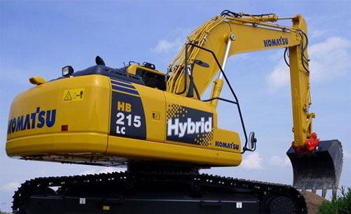 小松HB215LC-1第二代混合动力挖掘机