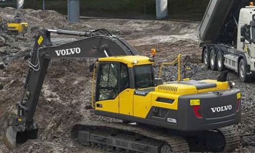 沃尔沃EC80D型履带式挖掘机