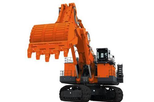 日立建机两款超大型液压挖掘机
