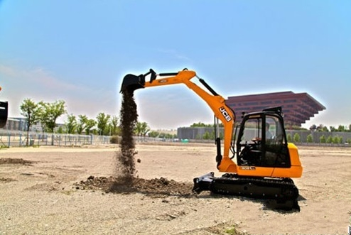 JCB新型8061小型挖掘机