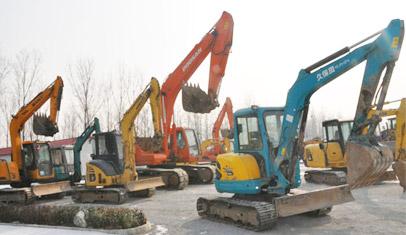 2012年度重大挖掘机新品盘点