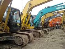 二手挖掘机的市场需求