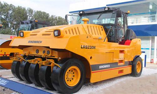 LRS230H全液压单钢轮振动压路机