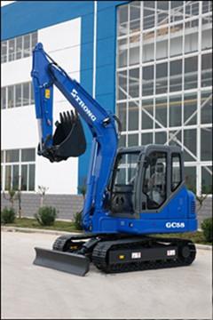 山重建机GC58-8挖掘机