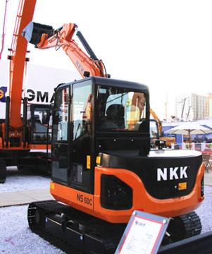 京城长野NS60C液压挖掘机