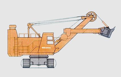 抚挖WD400A 挖掘机系列产品