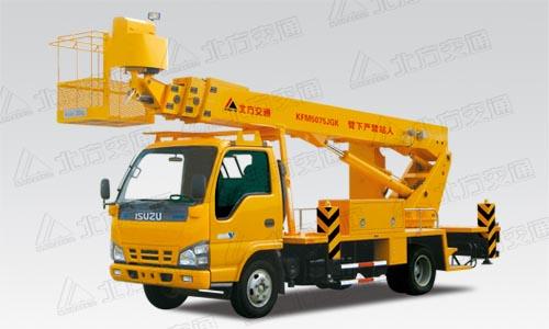 北方交通22米直臂式庆铃高空作业车