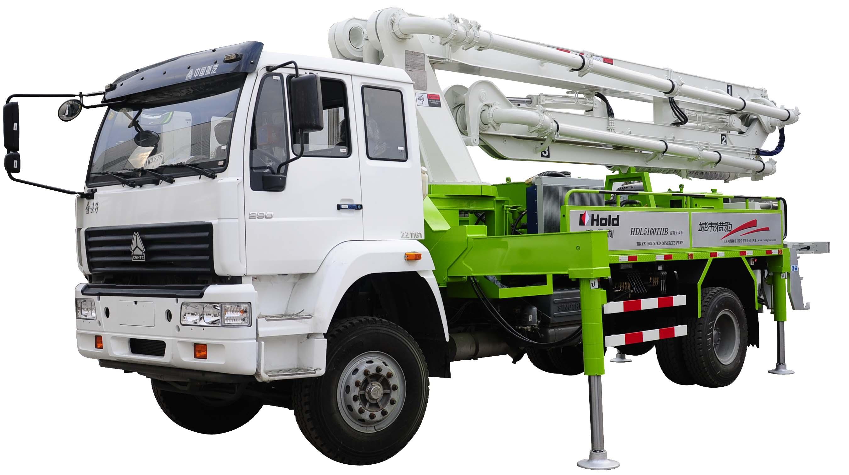 HDL5160THB型混凝土泵车
