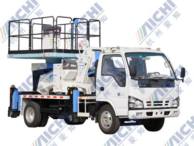 杭州爱知HYL5073JGKA大平台高空作业车