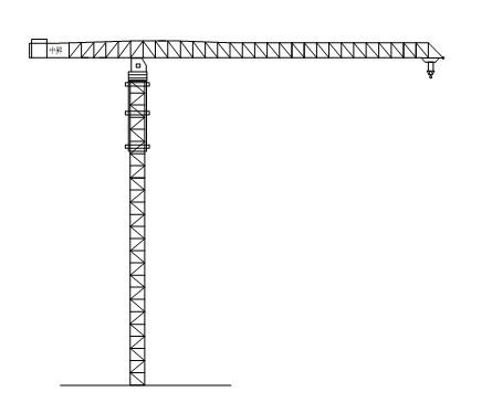 中昇QTZ3200(ZSL3200)平臂塔式起重机