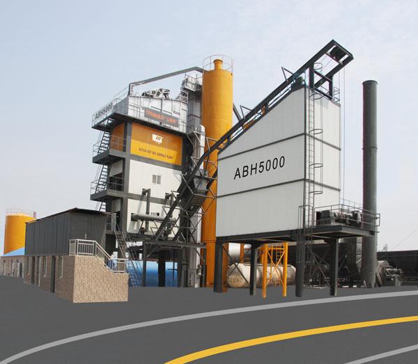 华通动力ABH5000沥青混合料搅拌设备
