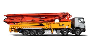 雷萨重机68米泵车