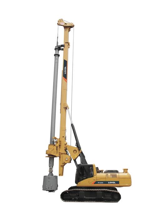 雷沃重工FR612D旋挖钻机