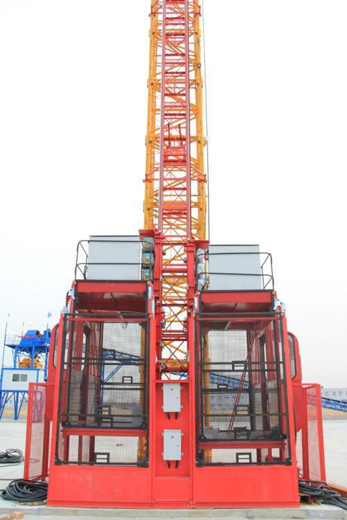 中建机械变频中速SC200/200施工升降机