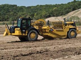 卡特彼勒627K轮式拖拉机铲运机