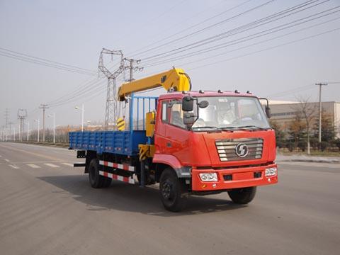 厦工楚胜XZJ5160JSQS随车起重运输车
