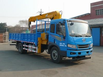 江特解放国四6.3-8吨随车吊