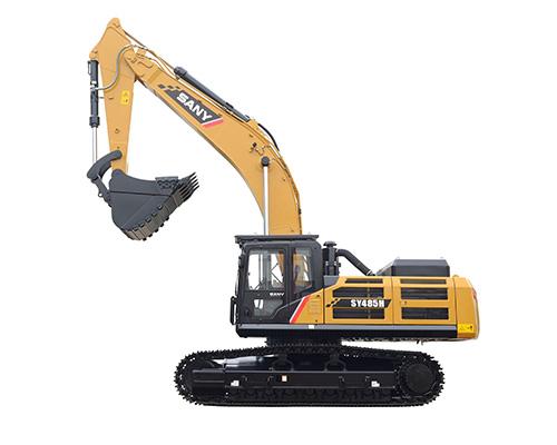 三一重工SY485H大型液压挖掘机参数 -三一重工 SANY 挖掘机参数图片