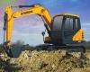 现代75VS挖掘机